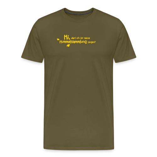 Hummel Sammlung Biene erste Liebe flirten Romantik - Men's Premium T-Shirt