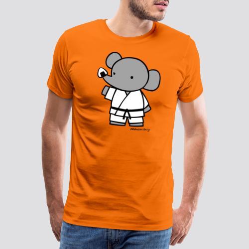 Olifant - Mannen Premium T-shirt