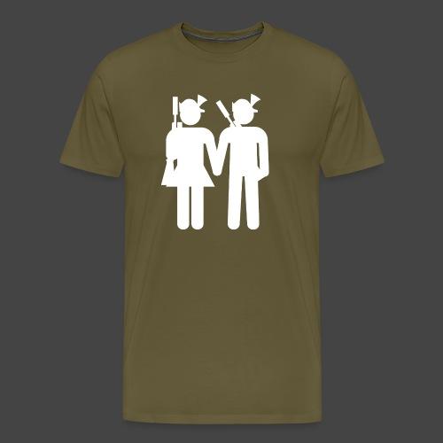 nxrt gen hntr wht - Männer Premium T-Shirt