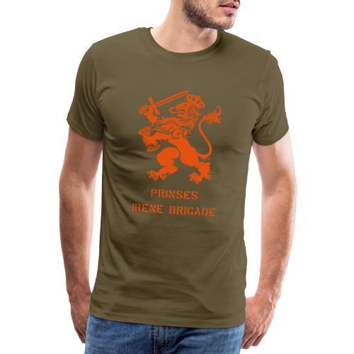 AVM WWII Prinses Irene Brigade Lion - multicolor - Mannen Premium T-shirt