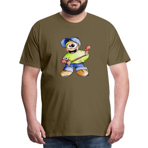 Elastizitätstest - Männer Premium T-Shirt