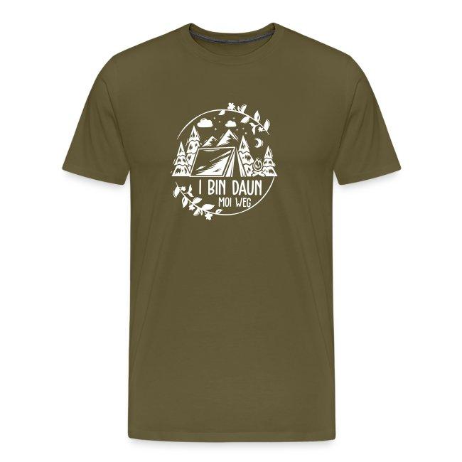 Vorschau: I bin daun moi weg - Männer Premium T-Shirt