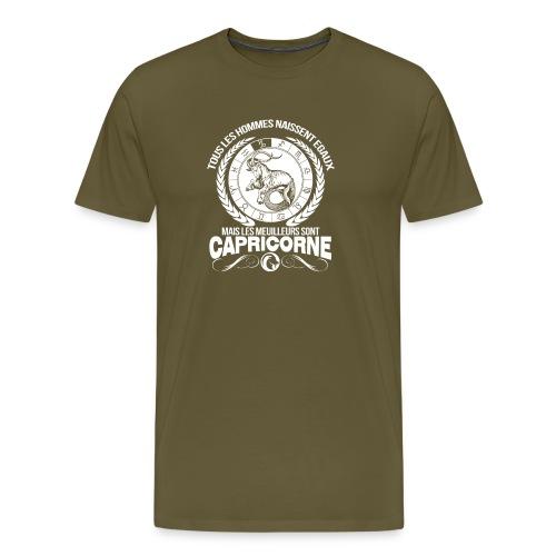 T-shirt signe du zodiaque horoscope Capricorne - T-shirt Premium Homme