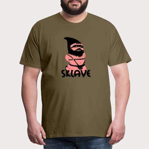 sklave zwerg - Männer Premium T-Shirt