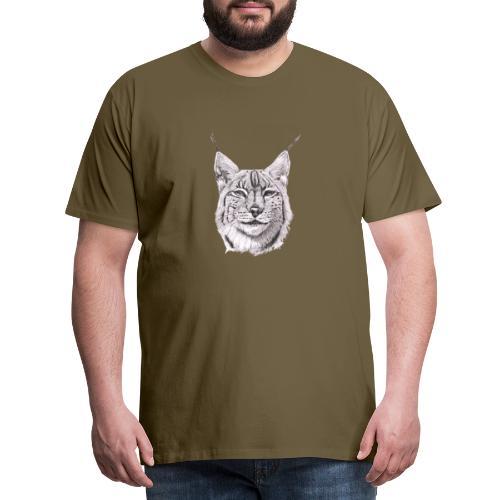 lynx - Herre premium T-shirt