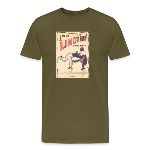 Do the Lindy Hop Since 1927 - Premium-T-shirt herr