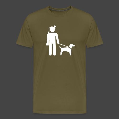 """""""Hundeführer""""-Jäger Shirt - Männer Premium T-Shirt"""