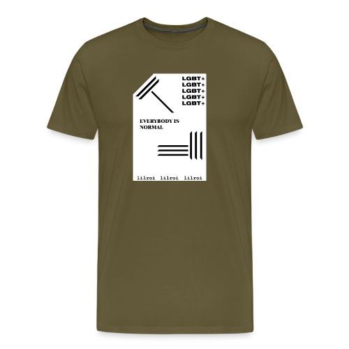lgbt+ - lilroi - Männer Premium T-Shirt