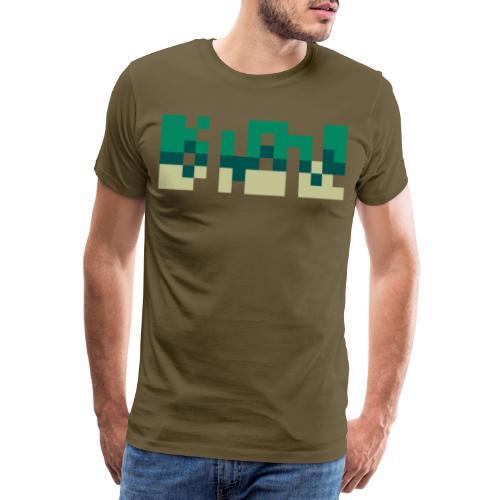 Couleur Palette - Panorama - Verdure - T-shirt Premium Homme