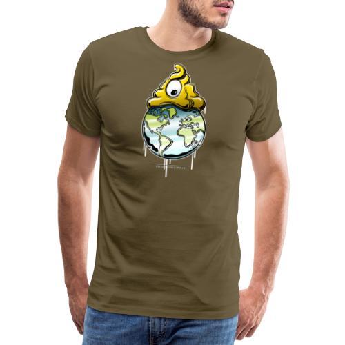 shit rules the world - Männer Premium T-Shirt