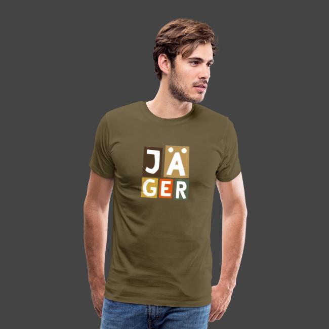 Geblockter Jäger - original Jägershirt