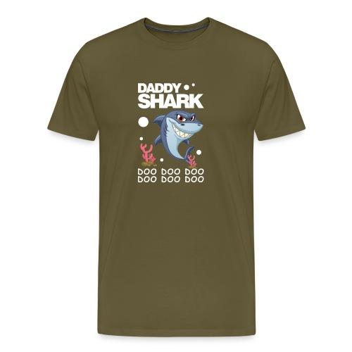 Daddy Shark Doo Doo - Men's Premium T-Shirt