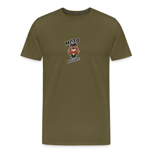 moto argente - T-shirt Premium Homme