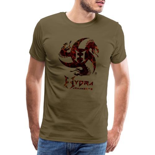 Cracked lava - Men's Premium T-Shirt