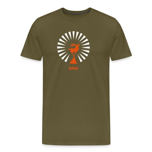 Juhui - Männer Premium T-Shirt
