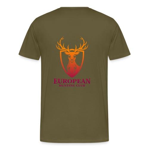 European Hunt Club 001 - Miesten premium t-paita