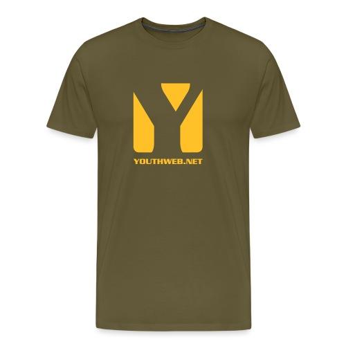 yw_LogoShirt_yellow - Männer Premium T-Shirt