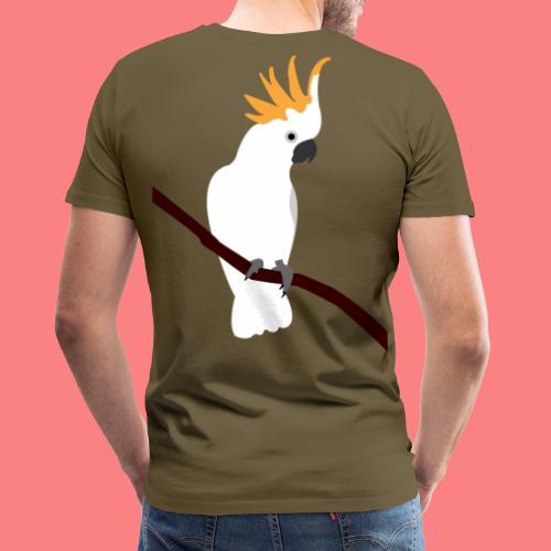 WHITE CACATUA - Maglietta Premium da uomo