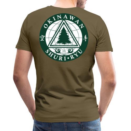 Klubmærke Ryg placering - Herre premium T-shirt