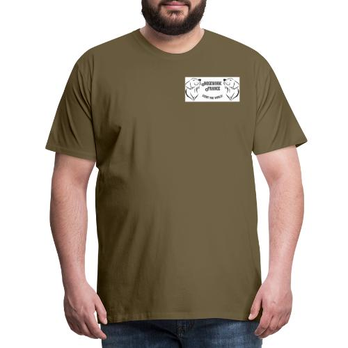 Nosework france - T-shirt Premium Homme