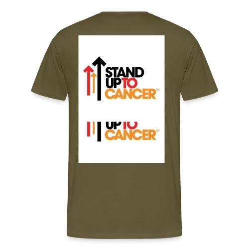 stand up to cancer logo large jpg - Men's Premium T-Shirt