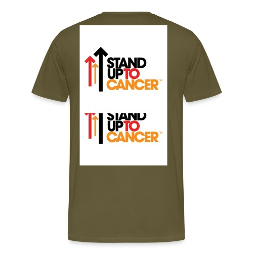 stand up to cancer logo large jpg - Men's Premium T-Shirt