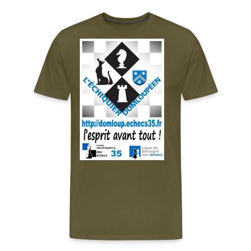 devant lesprit avant tout - T-shirt Premium Homme
