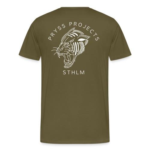 tige tiger - Premium-T-shirt herr