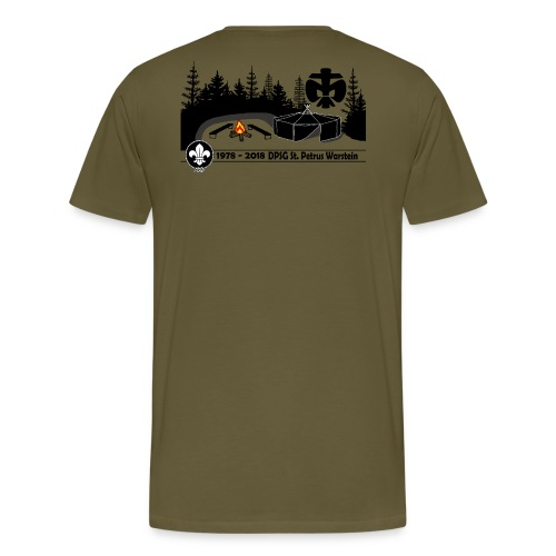 40-Jubiläum - Männer Premium T-Shirt