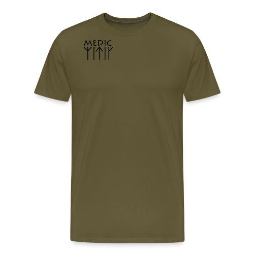 Rune Medic V2 png - Herre premium T-shirt