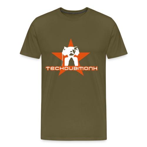 logo techdubmonk - Männer Premium T-Shirt