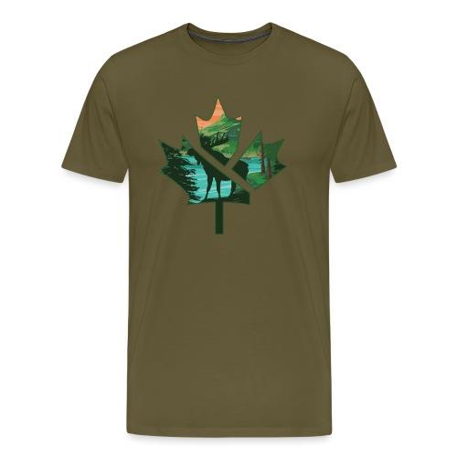 FanTee Canada-Leaf Collection - Männer Premium T-Shirt