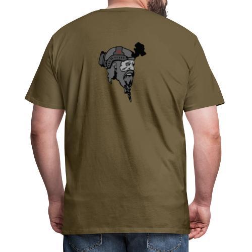 Kun logo - Herre premium T-shirt