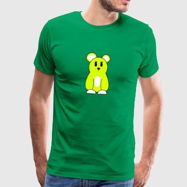 Bärli Maus 1 3c - Männer Premium T-Shirt