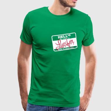 HELL:o Lucifer | 2c - Männer Premium T-Shirt