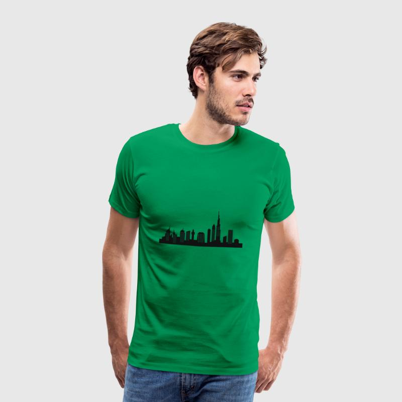 Skyline von Dubai - Männer Premium T-Shirt