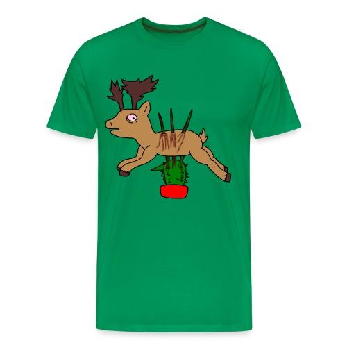 Cerf piquant - T-shirt Premium Homme