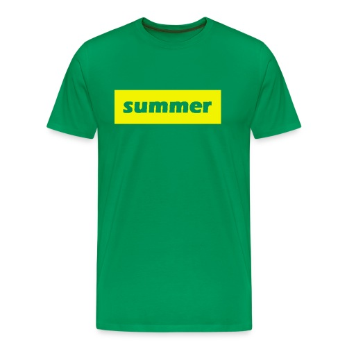 summer - Mannen Premium T-shirt