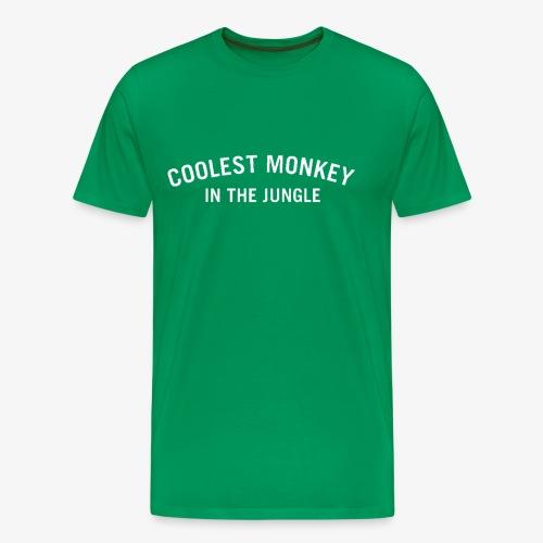 COOLEST MONKEY IN THE JUNGLE - Männer Premium T-Shirt