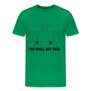 You shall not pass! - Mannen Premium T-shirt