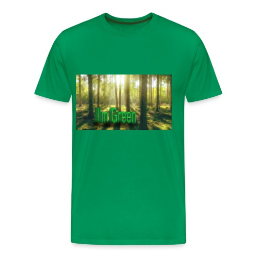 I'm Green. - Premium-T-shirt herr