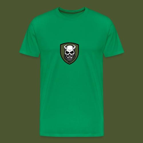 Beardevil Patch - Premium-T-shirt herr