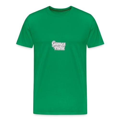 Games4Real - Mannen Premium T-shirt