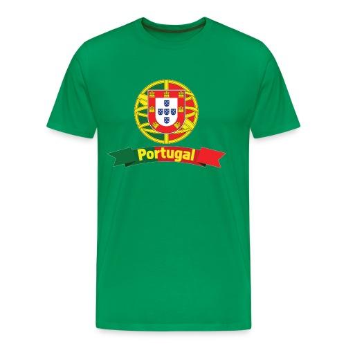 Portugal Campeão Europeu Camisolas de Futebol - Men's Premium T-Shirt