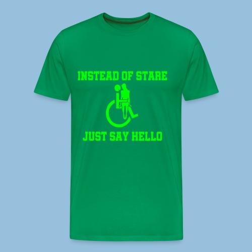 stare - Mannen Premium T-shirt