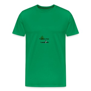 Greenkush Counter Strike style - Premium-T-shirt herr