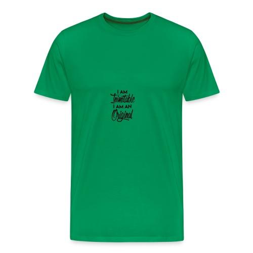 ICH BIN UNNACHAHMBAR - Männer Premium T-Shirt
