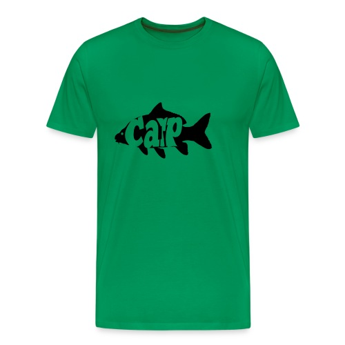 carp fish - Mannen Premium T-shirt