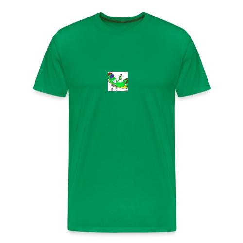 Gurke - Männer Premium T-Shirt