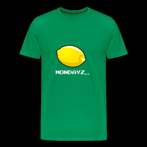 Lemon MONDAYZ - Das Montags-T-Shirt! - Männer Premium T-Shirt